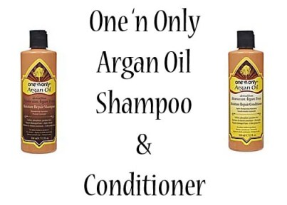 One 'n Only Argan Oil Shampoo & Conditioner Review