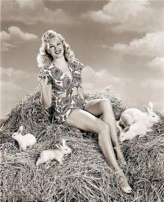 Adele Jergens Easter