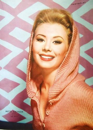 Entertainer Mitzi Gaynor