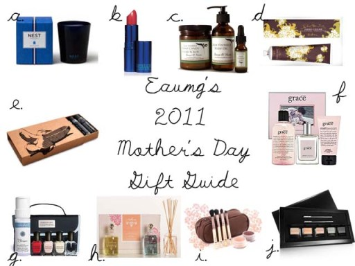 EauMG's 2011 Mother's Day Gift Guide