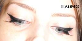 Anna Karina 1960's eye makeup tutorial