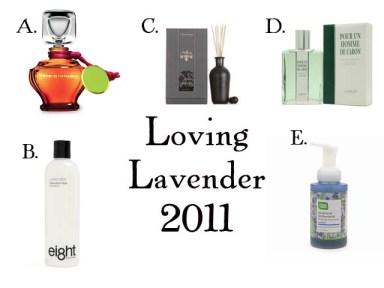 A lavender fragrance guid