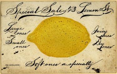 1907 Lemon Ad