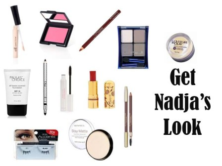 Get the 1950's makeup look of Nadja Tiller