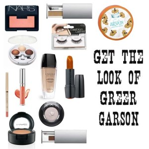 Greer Garson makeup look