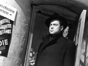 Orson Welles the 3rd man
