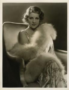 Ruth Sewlyn in fur