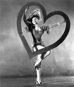 Debra Paget Valentine's Day