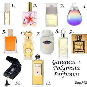 Gauguin Polynesia inspired perfumes