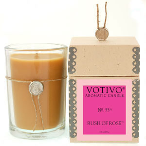 Votivo Rush of Rose Candle