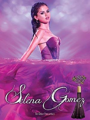 Selena Gomez perfume ad