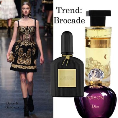 brocade fashion trend