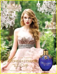 Taylor Swift Wonderstruck ad