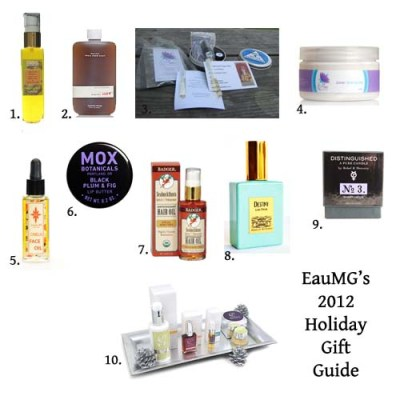 2012 natural gift guide