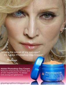 Madonna Photoshop