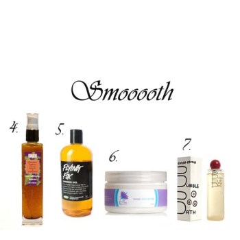 Valentine's body products