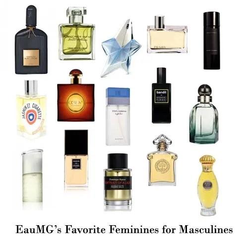 Feminine perfumes for men