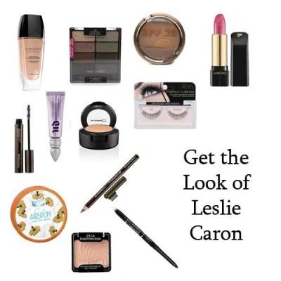 Leslie Caron Makeup