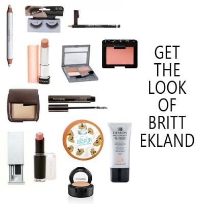 Britt Ekland makeup