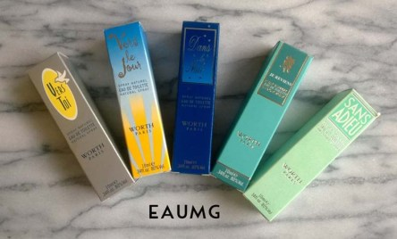 Worth perfumes