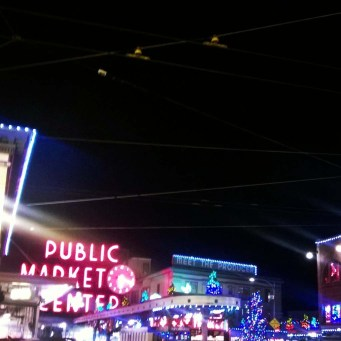December Pike Place