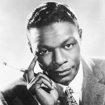 Nat King Cole smoking