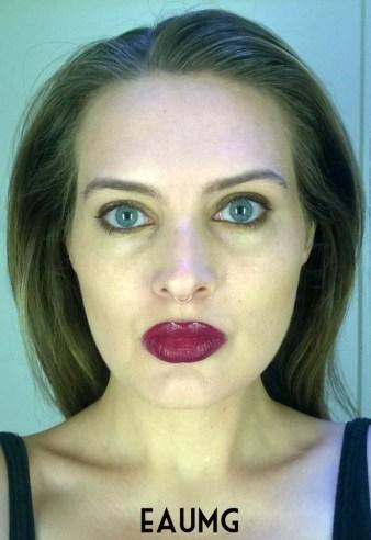 Berry Lip Look