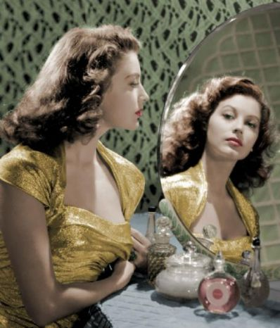 Ava Gardner with Guerlain