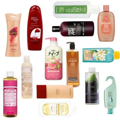 favorite shower gels