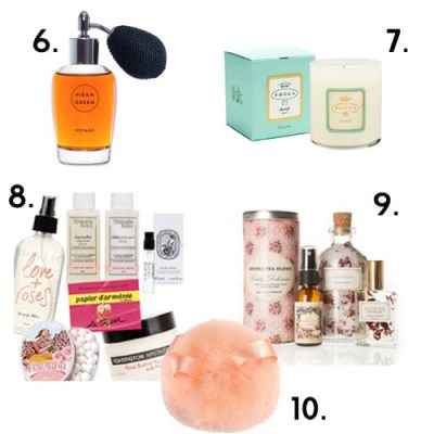 holiday gifts for vintage beauties