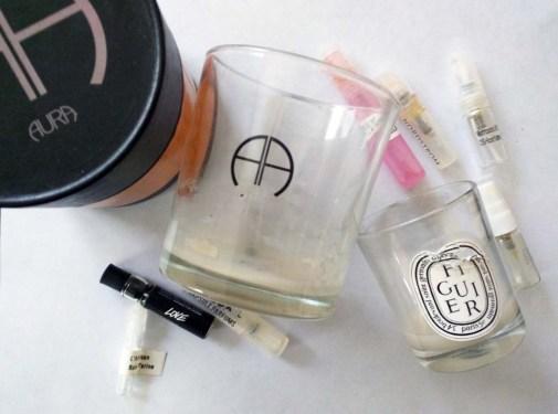 January Fragrance Empties