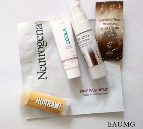 EauMG Skincare Empties
