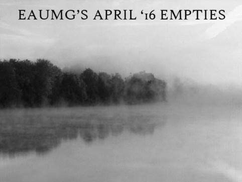 EauMG April 2016 Empties