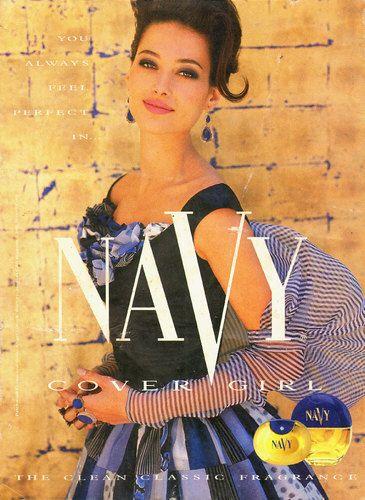 Covergirl Navy Perfume ad