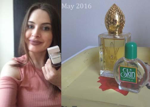May 2016 perfumes