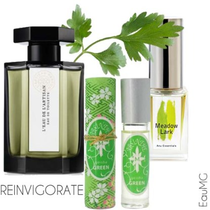 refreshing green perfumes