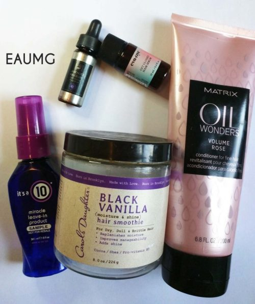 EauMG April 2017 Hair Empties