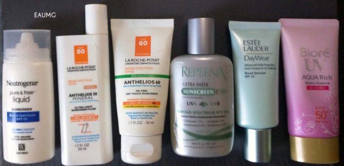 EauMG facial sunscreen