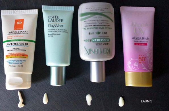EauMG sunscreens