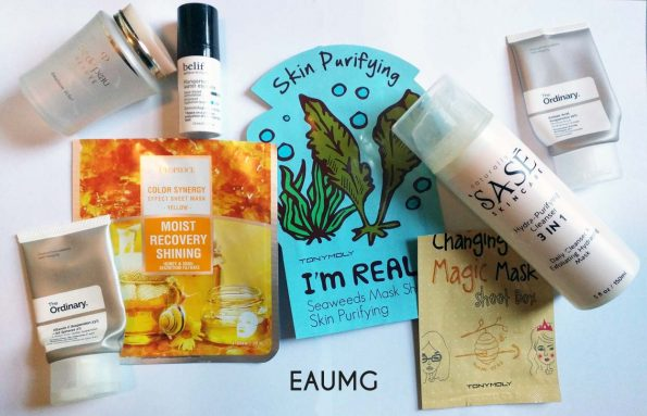 August Skincare Empties