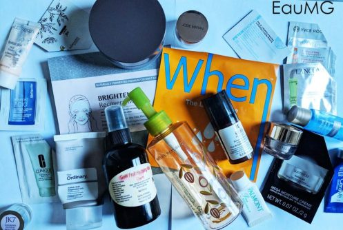 December skincare empties