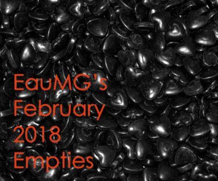 February 2018 Empties