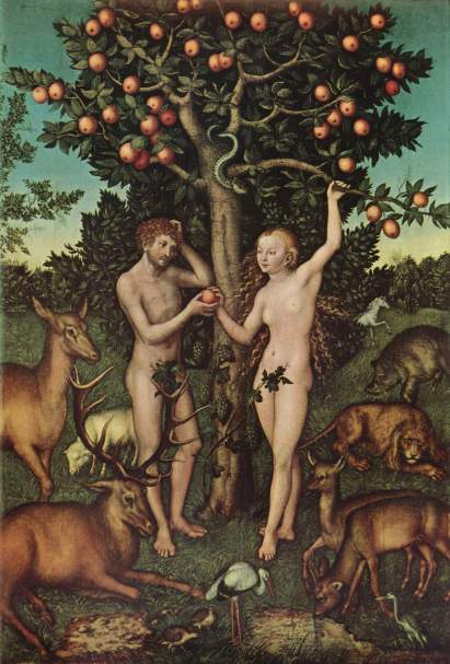Cranach Adam and Eve