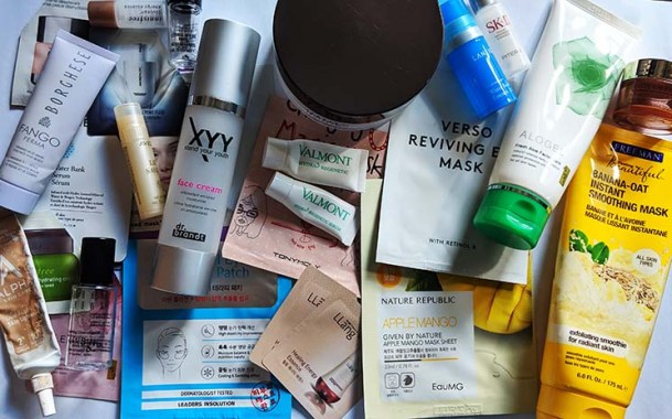 October 2018 Skincare empties