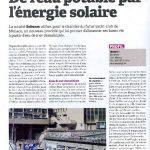OPPBTP febrero 2012 De l'eau potable par l'énergie solaire