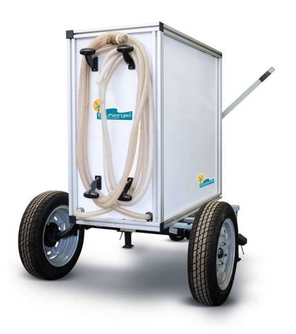 Eaumob by EauNergie - purification of water by pumping ecological and economical manual.