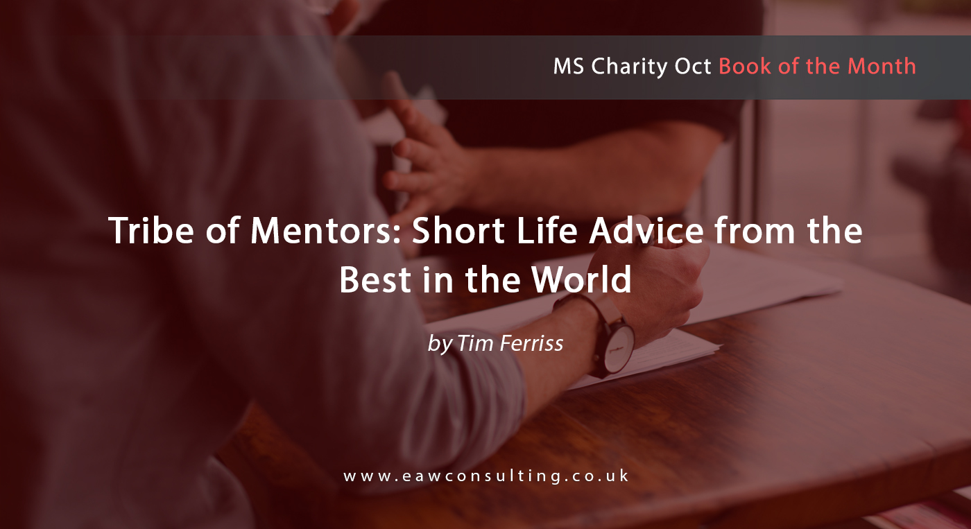 Oct 2018 Tribe of Mentors