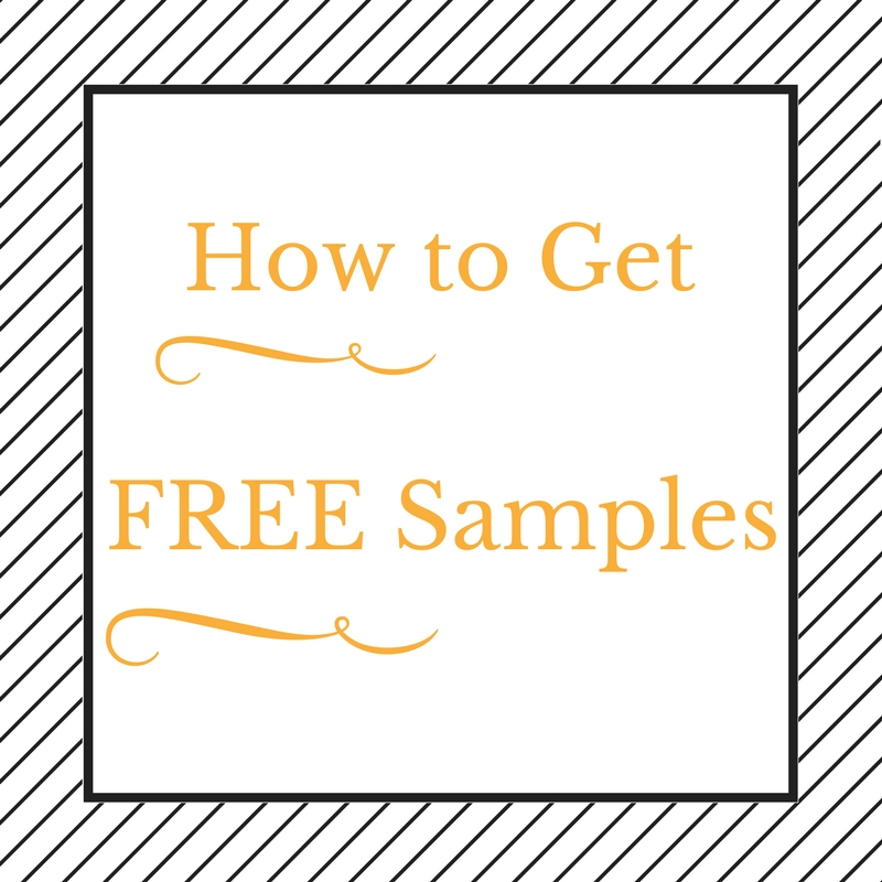 Free samples for reviews