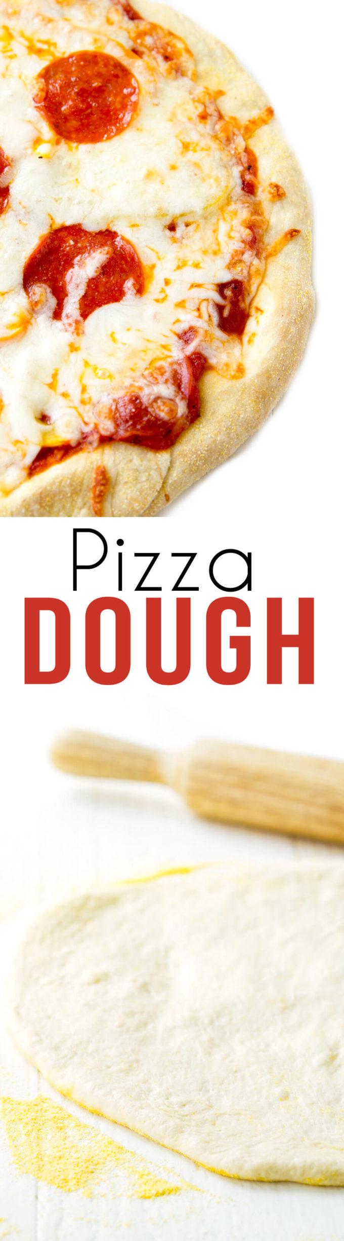 Easy pizza dough!