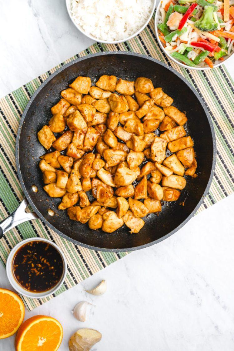 Delicious teriyaki chicken for freezer friendly teriyaki chicken bowls